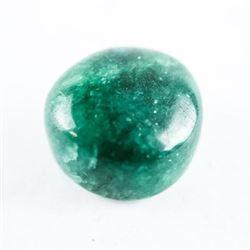 Loose Gemstone (9.67ct) Round Cabochon Cut Emerald
