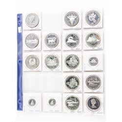 Estate Coin Sheet, .925 Sterling Silver, Nickel, C