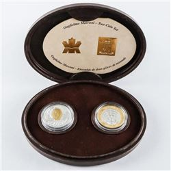 Marconi - 2 Coin Set with Case