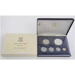 168a1974 British Virgin Islands Proof Set - Silver