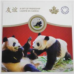 2018 .9999 Fine Silver $8.00 Coin Peaceful Panda -