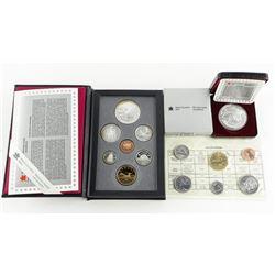 Lot - 1996 RCM Proof Coin Set, 1996 Proof Dollar,