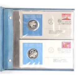 925 Sterling Silver - First Day Cover and Medal Se