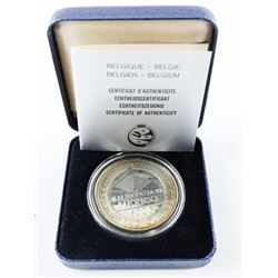 925 Silver Proof Mexico 500F Coin with C.O.A.
