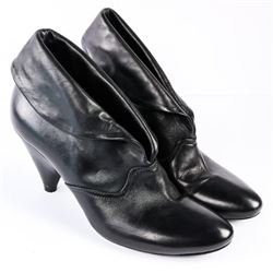 Estate David Dixon Ladies Shoes Black Heels Size 4
