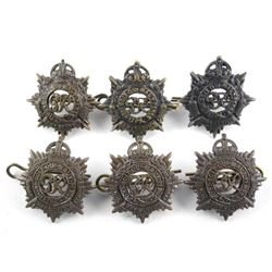 Lot (3) Royal Army Service Corps Kings Crown Offic