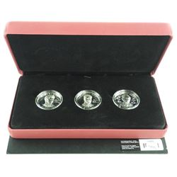 Prince Henry of Wales 3 Coin Set, 15.00 Raised Vig