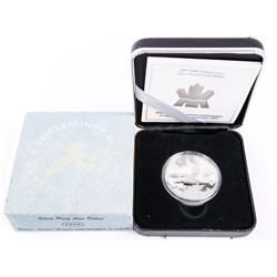 1987-1997 10th Anniversary Proof Loon 'Silver' (SM