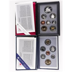 Group of (2) RCM 1997 Specimen and Proof Sets 'Fly
