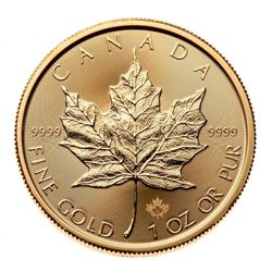 Royal Canadian Mint .9999 Fine Gold 1oz Round Mapl