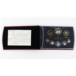 RCM 2011 Proof Coin Set Silver