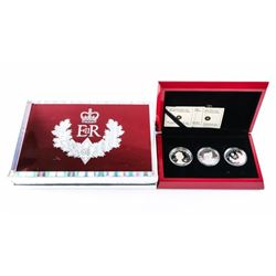 2012 3-Coin Set - .9999 Fine Silver 20.00 Coins. T