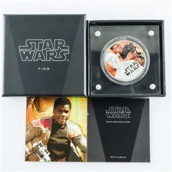 .9999 Fine Silver 1oz Coin 'Star Wars' FINN