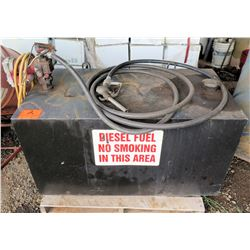 Diesel Fuel Tank w/ Pump, Hose & Nozzle
