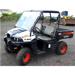Bobcat 3200 UTV 4x2 Utility Terrain Vehicle w/ Manual Dump Bed (Runs & Drives, See Video)