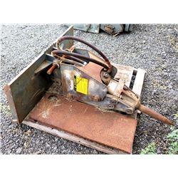 Bobcat Hydraulic Breaker Hammer Demolition Tool Attachment