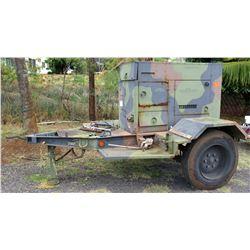MEP-804B Diesel 15KW Generator on Trailer