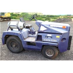 Clark Contract Service Propane Fueled Yard Tote Towing Tractor (Runs & Drives, See Video)