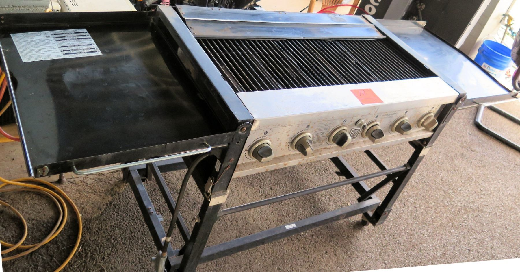 Master Forge Propane Gas BBQ Outdoor Grill GR2045402-MF-00 ...
