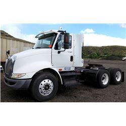 2009 International Navistar Truck Tractor Double Axel w/ 5th Wheel (Runs & Drives, See Video)