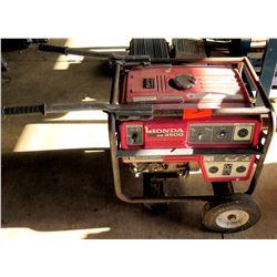 Honda EB3500 Portable Generator 120V/240V 60Hz Single Phase