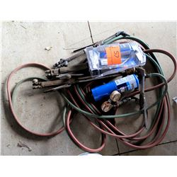 Victor Benzomatic Propane Welder w/ Tanks, Hoses, Nozzles