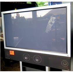 Pioneer Plasma Display TV  w/ Stand & Tandberg Sound Bar ACN 005017087