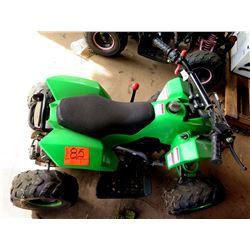 Zhejiang Industrial Co 2018 Green Quad ATV-110DG Off Road 4 Wheeler