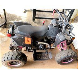 Zhejiang Industrial Co Red Quad ATV-110DG Off Road 4 Wheeler