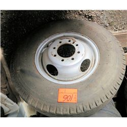 Duro 7.5-16LT 116L Tire on Rim