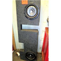 Kicker Vehicle Speaker Board w/ 2 X-Scorpion Speakers