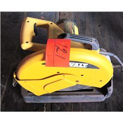 DeWalt D28710 14  Chop Saw Type 1, 120V, 50/60 Hz