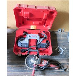 """Milwaukee Portable Band Saw in Case & Heavy Duty 7"""" Polisher"""