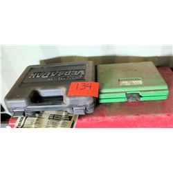 Black & Decker VersaPak Drill & Greenlee Auger Hole Saw Kit