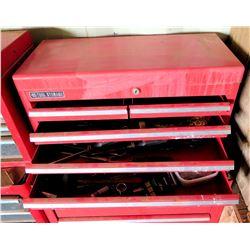NAPA 4 Drawer Tool Storage Box w/ Misc Tools in Drawers