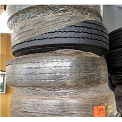 Qty 4 Pneumatic Tires Wheels E114832