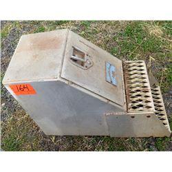 Genuine Merritt Saddle Box Aluminum Step Box