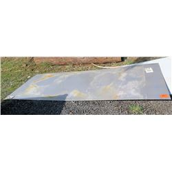 Qty 2 Metal G36037 GOV Steel Sheets (10ft x 4ft & 8ft x 4ft)