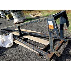 Black Metal Pindle Hook Tow Bar Rough Terrain Truck Attachment