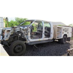 Ford Motor Company 2010 Incomplete Vehicle Service Truck FOR PARTS
