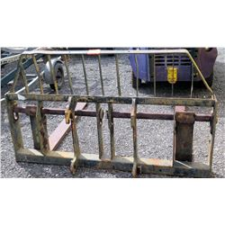 Forklift Attachment for Equipment Backhoe, etc (Fits Gradall/Skytrac)