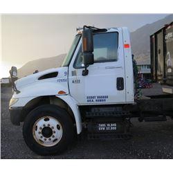 White 2002 International Single Axle Truck Tractor F29356 (Runs & Drives See Video)