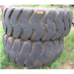 Qty 2 Dominator CD518 Tubeless 23.5-25 Equipment Tires
