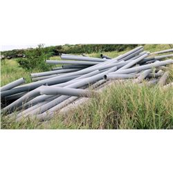 Multiple Misc Gray PVC Pipes