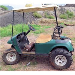Qty 2 Golf Carts for Parts/Repair with Chargers