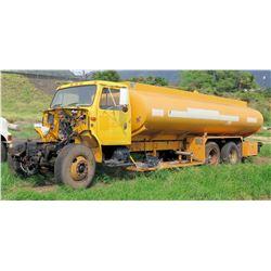 Navistar International 4900 Water Truck Trailer  6x4 (No Front End, No Paperwork)