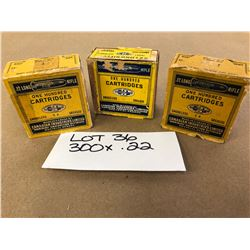 AMMO:  300 X .22 CIL LONG RIFLE