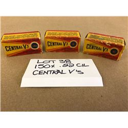 AMMO: 150 X .22 CIL CENTRAL V'S