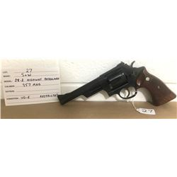 SMITH & WESSON, MODEL 28-2 HWY PATROLMAN, .357 MAG
