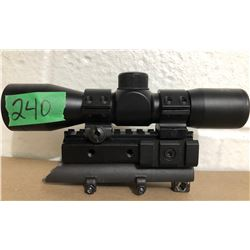 NC STAR 4 X 30 SCOPE & MOUNT FOR SKS